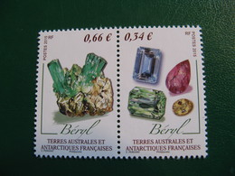 TAAF YVERT POSTE ORDINAIRE N° 726/727 - TIMBRES NEUFS** LUXE - MNH - FACIALE 1,00 EURO - Unused Stamps