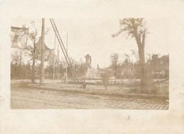 Snapshot Place De La République Reims 20 Octobre 1918 échelle Guerre War WWI - Guerre, Militaire