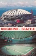 American NFL Football, Seattle Washington Domed Stadium 'Kingdome', C1970s Vintage Postcard - Other