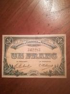 Billet 1 Franc Chambre Du Commerce De Périgueux 1/10/1915 SUP - 1871-1952 Antichi Franchi Circolanti Nel XX Secolo