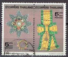 Thailand 1979 - Royal Decorations - Michel 926-27  Somchai 922-23 - Used - Thailand