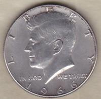 Etats-Unis. Half Dollar 1966. Kennedy. Argent - Emissioni Federali