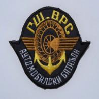 1991-1995 Bosnian War - Serbian Automobile Batallion - Sleeve Patch - Stoffabzeichen