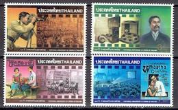 Thailand 1997 - Centenary Of Thai Cinema - Michel 1778-81  Somchai 1716-19 - MNH, Neuf, Postfrisch - Thailand