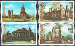 Thailand 1996 - Thai Heritaghe Conservation - Michel 1686-89  Somchai 1635-38 - MNH, Neuf, Postfrisch - Thailand