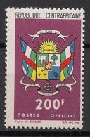 Centrafricaine - 1965 - Service N°Yv. 10 - 200f - Neuf Luxe ** / MNH / Postfrisch - Zentralafrik. Republik