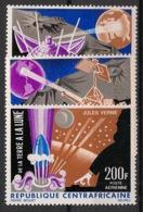 Centrafricaine - 1966 - Poste Aérienne PA N°Yv. 39 à 41 - Conquète De La Lune - Neuf Luxe ** / MNH / Postfrisch - Zentralafrik. Republik