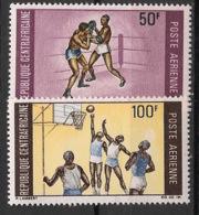 Centrafricaine - 1969 - Poste Aérienne PA N°Yv. 74 à 75 - Sports - Neuf Luxe ** / MNH / Postfrisch - Zentralafrik. Republik