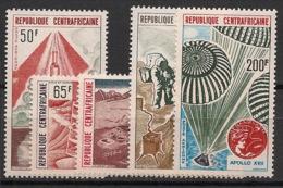 Centrafricaine - 1973 - Poste Aérienne PA N°Yv. 124 à 128 - Apollo XVII - Neuf Luxe ** / MNH / Postfrisch - Afrika