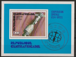 Centrafricaine - 1976 - Bloc Feuillet BF N°Yv. 9 - Coopération Spatiale - Neuf Luxe ** / MNH / Postfrisch - Afrika