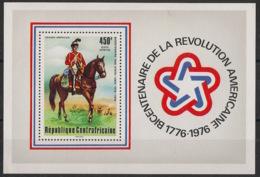 Centrafricaine - 1976 - Bloc Feuillet BF N°Yv. 10 - US Independance - Neuf Luxe ** / MNH / Postfrisch - Centrafricaine (République)