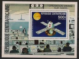 Centrafricaine - 1976 - Bloc Feuillet BF N°Yv. 12 - Opération Viking - Neuf Luxe ** / MNH / Postfrisch - Afrika