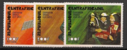 Centrafricaine - 1976 - Poste Aérienne PA N°Yv. 140 à 142 - Coopération Spatiale - Neuf Luxe ** / MNH / Postfrisch - Afrika