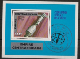 Centrafricaine - 1977 - Bloc Feuillet BF N°Yv. 14 - Coopération Spatiale - Neuf Luxe ** / MNH / Postfrisch - República Centroafricana