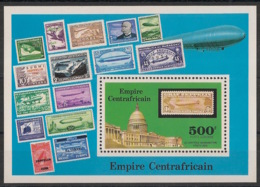 Centrafricaine - 1977 - Bloc Feuillet BF N°Yv. 15 - Zeppelins - Neuf Luxe ** / MNH / Postfrisch - Zentralafrik. Republik