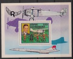 Centrafricaine - 1977 - Bloc Feuillet BF N°Yv. 19 - Concorde - Neuf Luxe ** / MNH / Postfrisch - República Centroafricana