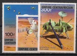 Centrafricaine - 1977 - Poste Aérienne PA N°Yv. 178 à 180 - Opération Viking - Neuf Luxe ** / MNH / Postfrisch - Afrika