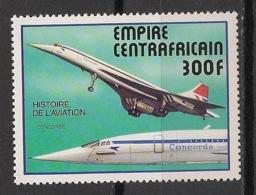 Centrafricaine - 1977 - N°Yv. 309 - Histoire De L'aviation / Concorde - Neuf Luxe ** / MNH / Postfrisch - República Centroafricana
