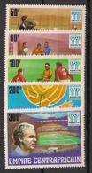 Centrafricaine - 1977 - N°Yv. 315 à 319 - Football World Cup Argentina 78 - Neuf Luxe ** / MNH / Postfrisch - República Centroafricana
