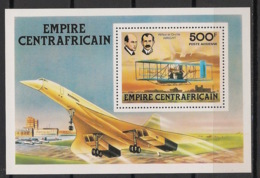 Centrafricaine - 1978 - Bloc Feuillet BF N°Yv. 25 - Concorde - Neuf Luxe ** / MNH / Postfrisch - Concorde