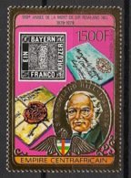 Centrafricaine - 1978 - Poste Aérienne PA N°Yv. 199 - Sir Rowland Hill OR - Neuf Luxe ** / MNH / Postfrisch - Rowland Hill