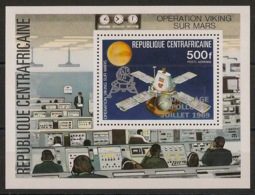 Centrafricaine - 1979 - Bloc Feuillet BF N°Yv. 38 - Apollo XI - Neuf Luxe ** / MNH / Postfrisch - Afrika