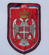 1991-1995 Bosnian War - Serbian Republic Army In Bosnia And Herzegovina - Sleeve Patch - Stoffabzeichen