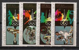 Centrafricaine - 1979 - N°Yv. 383 à 386 - Olympics / Moscou 80 - Neuf Luxe ** / MNH / Postfrisch - Zentralafrik. Republik