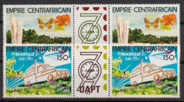 Centrafricaine - 1979 - N°Yv. 387A Et 388A - Philexafrique - Neuf Luxe ** / MNH / Postfrisch - Central African Republic