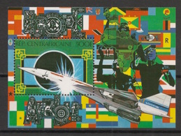 Centrafricaine - 1980 - Bloc Feuillet BF N°Yv. 43 - Concorde - Neuf Luxe ** / MNH / Postfrisch - Zentralafrik. Republik