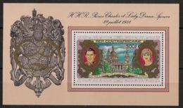Centrafricaine - 1981 - Bloc Feuillet BF N°Yv. 50 - Princess Diana - Neuf Luxe ** / MNH / Postfrisch - Zentralafrik. Republik