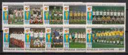 Centrafricaine - 1981 - N°Yv. 435 à 444 - Football World Cup Espana 82 - Neuf Luxe ** / MNH / Postfrisch - Centraal-Afrikaanse Republiek