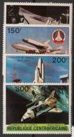 Centrafricaine - 1981 - N°Yv. 446 à 449 - Conquète De L'espace - Neuf Luxe ** / MNH / Postfrisch - Afrika