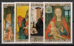 Centrafricaine - 1981 - N°Yv. 487 à 490 - Noel 81 - Neuf Luxe ** / MNH / Postfrisch - Centraal-Afrikaanse Republiek