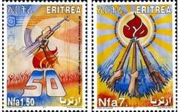 Ref. 279983 * MNH * - ERITREA. 2011. CINCUENTENARIO DE LA LUCHA ARMADA - Eritrea