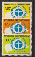 Centrafricaine - 1982 - N°Yv. 541 à 543 - Environnement - Neuf Luxe ** / MNH / Postfrisch - República Centroafricana