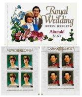 AITUTAKI, Royalty: Royal Wedding, Yv 301-02, ** MNH, F/VF, Cat. € 15 - Aitutaki