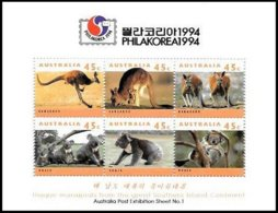AUSTRALIA, Philatelic Exhibitions, Yv Bk 22, ** MNH, F/VF, Cat. € 8 - Blocks & Kleinbögen