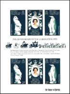 BRITISH ANTARCTIC TERRITORY, Royalty: Silver Jubilee, Yv 75-77, ** MNH, F/VF, Cat. € 12 - Neufs