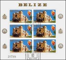 BELIZE, Pope John Paul II, Yv 630, Used, F/VF, Cat. € 8 - Belize (1973-...)