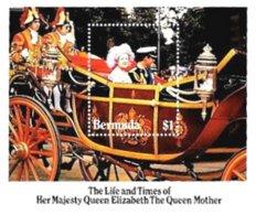 BERMUDA, Royalty: The Queen Mother, Yv Bk 5, ** MNH, F/VF, Cat. € 4 - Bermudes