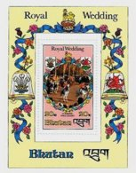 BHUTAN, Royalty: Royal Wedding, Yv Bk 80, ** MNH, F/VF, Cat. € 9 - Bhoutan