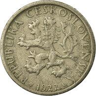 Monnaie, Tchécoslovaquie, Koruna, 1922, TTB, Copper-nickel, KM:4 - Tchécoslovaquie