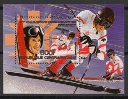 Centrafricaine - 1984 - Bloc Feuillet BF N°Yv. 73B - Sarajevo / Olympics - Neuf Luxe ** / MNH / Postfrisch - Zentralafrik. Republik