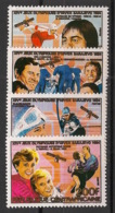 Centrafricaine - 1984 - N°Yv. 653E à 653H - Olympics / Sarajevo 84 - Neuf Luxe ** / MNH / Postfrisch - Zentralafrik. Republik