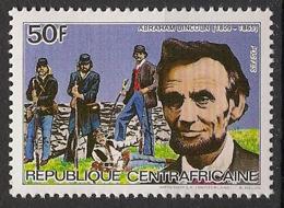 Centrafricaine - 1984 - N°Yv. 653J - Lincoln - Neuf Luxe ** / MNH / Postfrisch - Celebrità