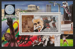 Centrafricaine - 1985 - Bloc Feuillet BF N°Yv. 76 - Olymphilex 85 - Neuf Luxe ** / MNH / Postfrisch - Zentralafrik. Republik