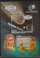 Centrafricaine - 1985 - Bloc Feuillet BF N°Yv. 82 - Comète De Halley - Neuf Luxe ** / MNH / Postfrisch - Zentralafrik. Republik