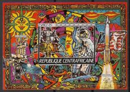 Centrafricaine - 1985 - Bloc Feuillet N°Yv. 80 - Espace 85 - Non Dentelé / Imperf. - Neuf Luxe ** / MNH / Postfrisch - Afrika
