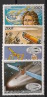 Centrafricaine - 1985 - N°Yv. 714 à 717 - Comète De Halley - Neuf Luxe ** / MNH / Postfrisch - Afrika